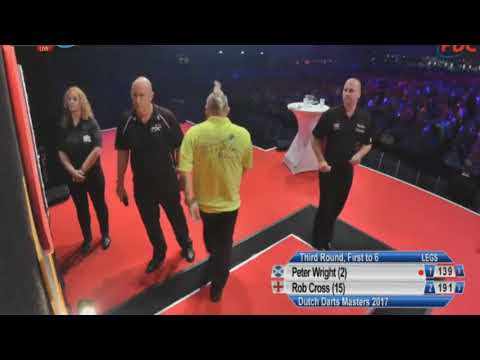 2017 Dutch Darts Masters   Round 3   Peter Wright Vs Rob Cross