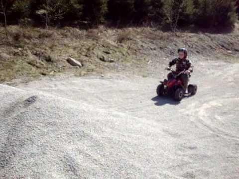 Mini ATV Quad 49ccm  Kinderquad  Test