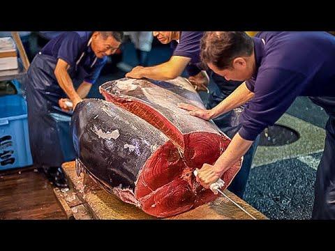 Рыбный Рынок в Японии. Обед Экономного Туриста. Хиросима - DomaVideo.Ru