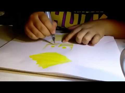 - Jasper SpeedPaint - with Watercolors by Hama (видео)