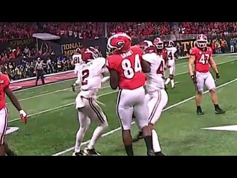 Alabama Linebacker Punches Georgia Player and Loses His Cool on the Sideline