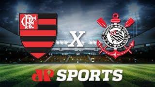 AO VIVO: Flamengo x Corinthians - 03/11/19 - Brasileirão - Futebol JP
