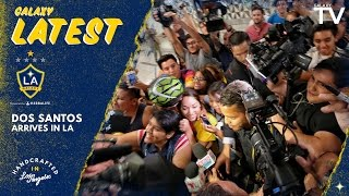GalaxyTV was at Los Angeles International Airport when an eager crowd greeted LA Galaxy forward Giovani dos Santos as he arrived in Los Angeles. Want to ...