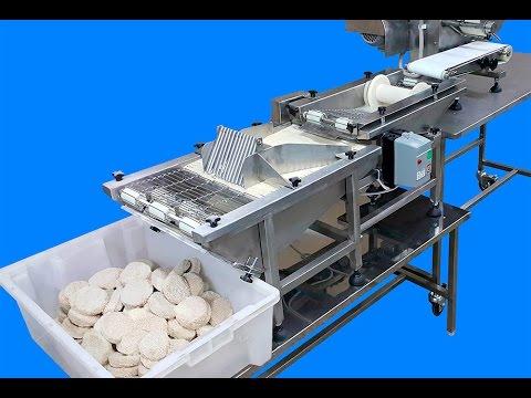 Видео: Комплект оборудования для производства панированных котлет, тефтелей, полуфабрикатов из фарша ИПКС-0213.