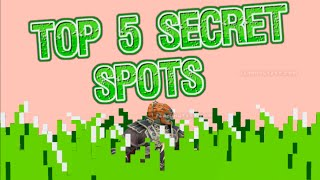 Top 5 Secret Spots