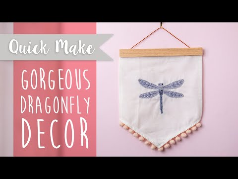 Create your own Hanging Dragonfly - Sizzix