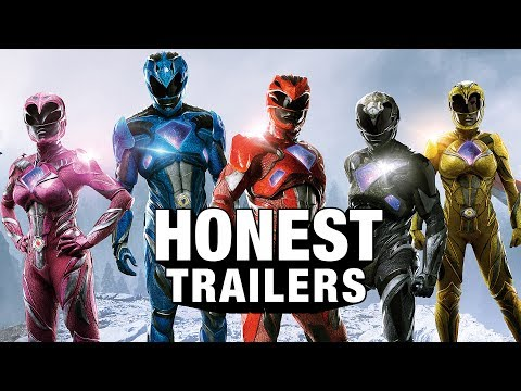 An Honest Trailer for the 2017 Power Rangers