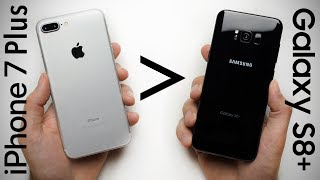 Video 25 Reasons Why iPhone 7 Plus Is Better Than Galaxy S8+ MP3, 3GP, MP4, WEBM, AVI, FLV November 2017