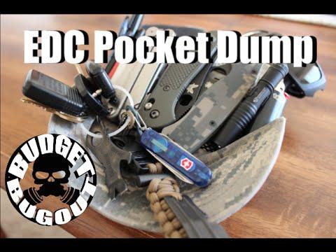 Everyday Carry Pocket Dump – 2014