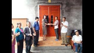 Hội LHPN thành phố Uông Bí trao nhà mái ấm tình thương tại phường Vàng Danh