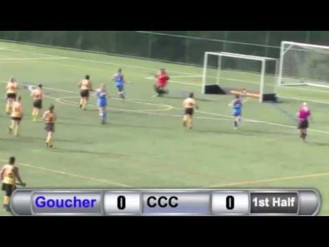 FH: Goucher vs. Cedar Crest Highlights - 10/1/14