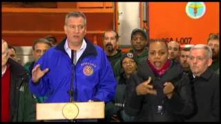 NYC Mayor: Residents Should Stay Home