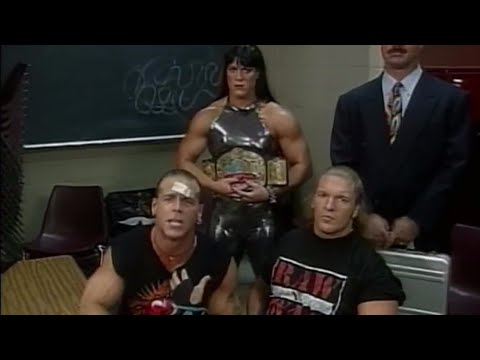 Shawn Michaels officially names D-Generation X: Raw, October 13, 1997 (видео)