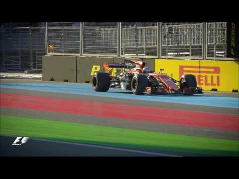 2017 Azerbaijan Grand Prix | FP2 Highlights