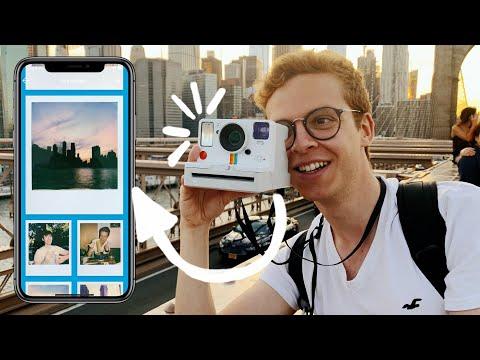 La Polaroid que se conecta a tu iPhone: NYC en 8 fotos (+Sorteo)