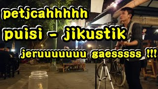 Video PUISI - JIKUSTIK COVER | Musisi Jogja Project | Pendopo Lawas MP3, 3GP, MP4, WEBM, AVI, FLV November 2018