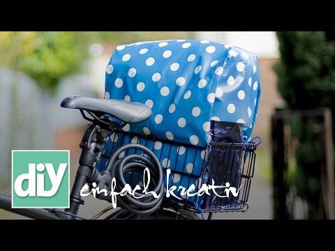 Haube für den Fahrradkorb | DIY einfach kreativ