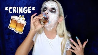 Drunk It Clown Makeup Tutorial. yikes. by Piink Sparkles
