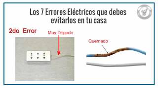Video Los 7 errores de Electricidad Domiciliaria, que debes evitar. MP3, 3GP, MP4, WEBM, AVI, FLV Agustus 2018