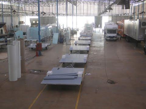 Conheça uma Fábrica de Trailers e MotorHomes / Conheça a fábrica da MotorTrailer / 1ª parte