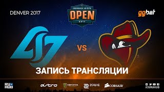 CLG vs Renegades - Dreamhack Denver - map2 - de_cobblestone [anishared, MintGod]