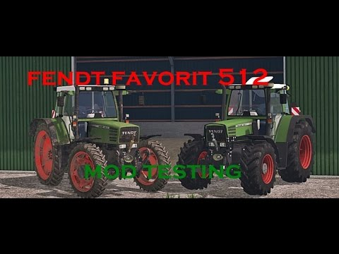 Fendt Favorit 512C Washable FS 2015 v2