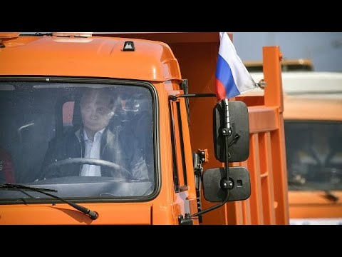Selbst am Steuer: Putin eröffnet umstrittene Krim-Brü ...