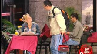 Table Cloth Backpack Prank
