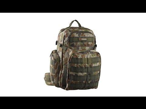 Відео огляд тактичного рюкзака Caribee Ops pack 50 Black