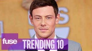 cory monteith Celebs React To
