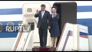 Video LIVE: Chinese President Xi Jinping arrives in Moscow MP3, 3GP, MP4, WEBM, AVI, FLV Februari 2019