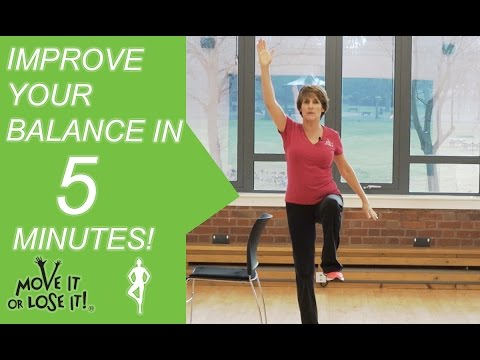 4 Beginners Exercises to Improve Your Balance in 5 Minutes