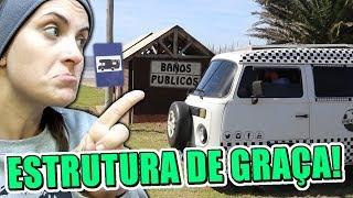 ESTRUTURA DE GRAÇA pra MOTORHOME! URUGUAY SUPER RECEPTIVO!
