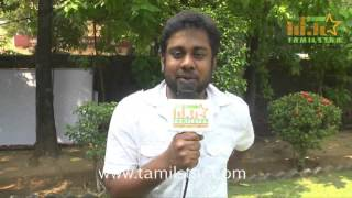 Co-Producer Karthick at 1 Pandhu 4 Run 1 Wicket Movie Team Interview