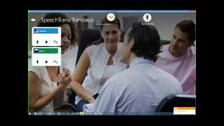 SpeechTrans Windows Desktop Tutorial