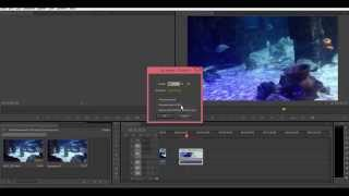 How To Speed Up/Slow Down Video in Adobe Premiere Pro CS6 / CC 2014