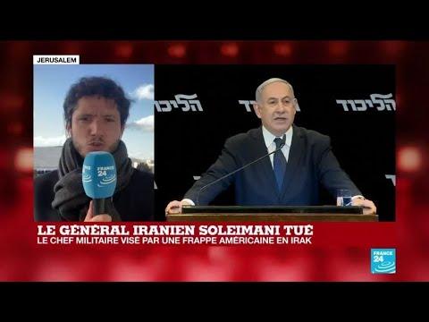 """Général iranien Soleimani tué : """"C'est la retenue du côté d'Israël"""""""