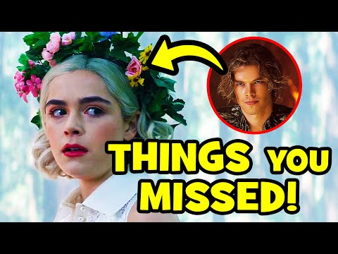 Top 28 CHILLING ADVENTURES OF SABRINA Season 3 Easter Eggs + RIVERDALE Crossover Explained