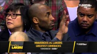 Kobe Bryant responding to a Mavericks trash talker HD