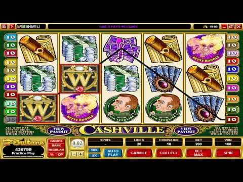 Gamtool: Cashville Video Slot Machine Game