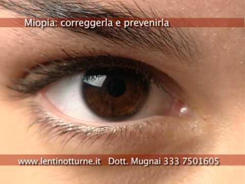Ortocheratologia = lenti a contatto notturne www.lentinotturne.it