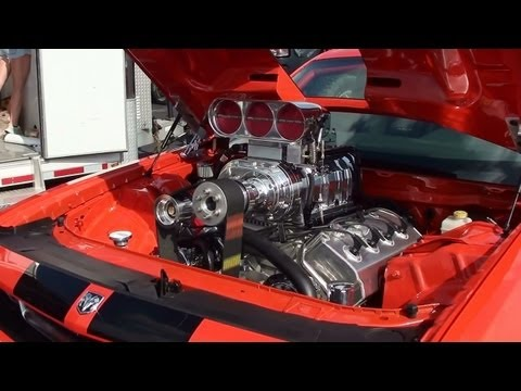 Supercharged 572 Hemi Challenger SRT8