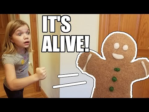 The Gingerbread Man Is Alive! Can't Catch Me I'm the Gingerbread Man