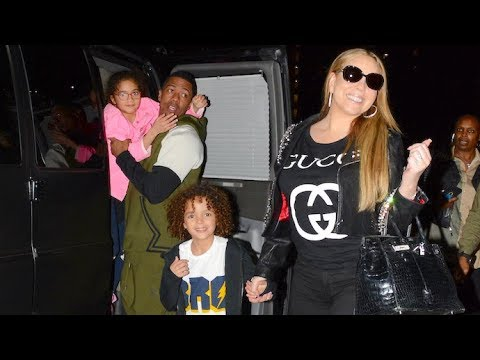 Mariah Carey Reunites With Nick Cannon For Dinner With Their Twins - EXCLUSIVE