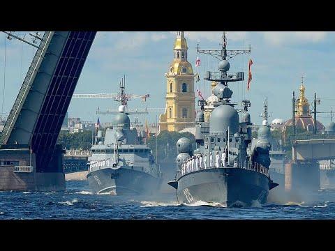 Ρωσία: Εντυπωσιακή παρέλαση για την Ημέρα του Πολεμικού Ναυτικού…