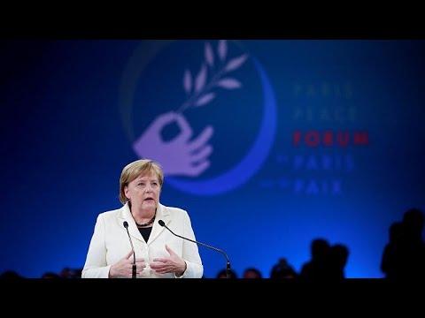 Mέρκελ: Κάποιοι αμφισβητούν την ειρήνη
