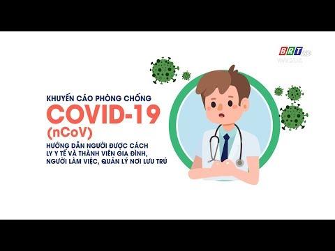 Khuyến cáo phòng chống Covid -19 - hướng dẫn cách ly y tế