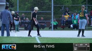 Rochester High School Softball vs TVHS
