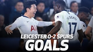 Video HEUNG-MIN SON WONDER STRIKE! | Leicester City 0-2 Spurs MP3, 3GP, MP4, WEBM, AVI, FLV Agustus 2019