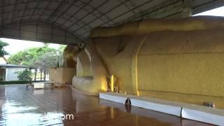 Kamphaengphet Thailand  city photo : Reclining Buddha in Kamphaeng Phet Thailand